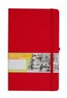 Notes A6 kieszonkowy z gumką Romantyzm linia czerwony