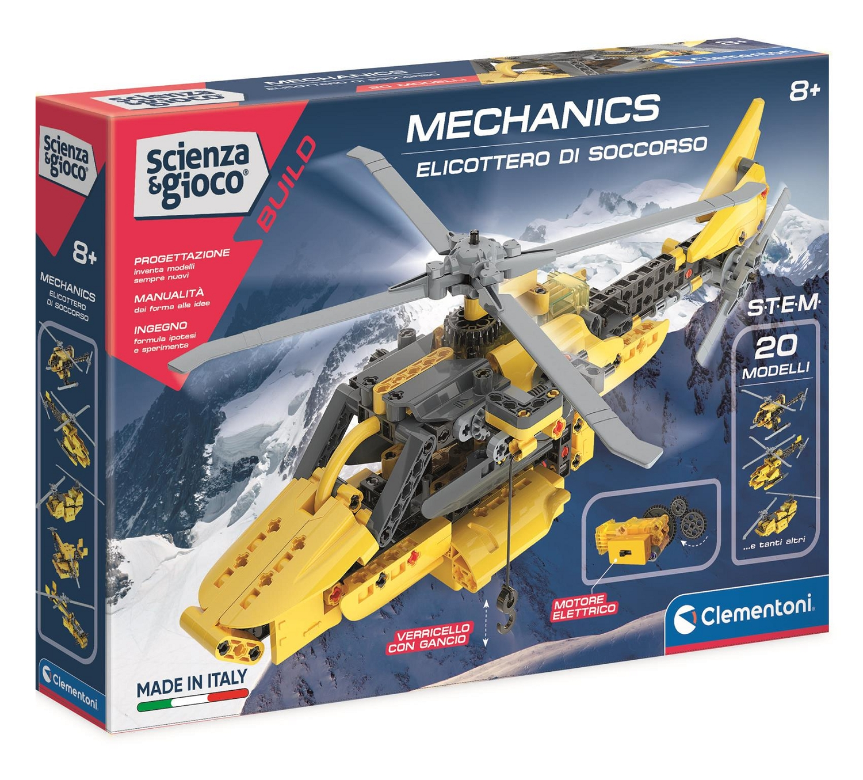 Clementoni, Laboratorium Mechaniki: Helikopter Ratowniczy (50687)