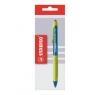Długopis Stabilo Performer+ niebieski mix