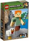 Lego Minecraft: BigFig - Alex z kurczakiem (21149) Wiek: 7+