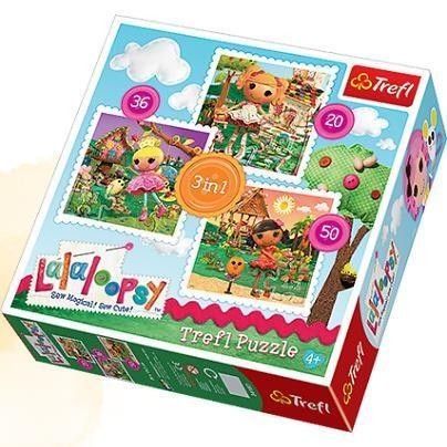 Puzzle 3w1 Lala Loopsy (34187)
