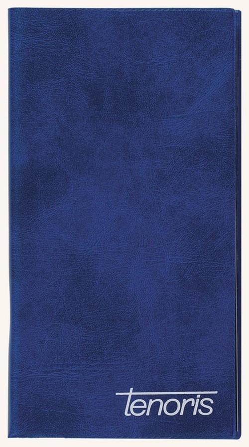 Kalendarz 2017 Tenoris klasyczny kieszonkowy niebieski