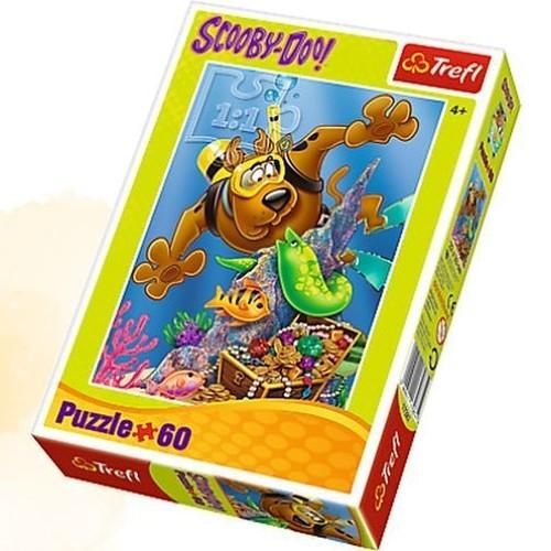 Puzzle 60: Scooby-Doo, Nurkowanie (17287)