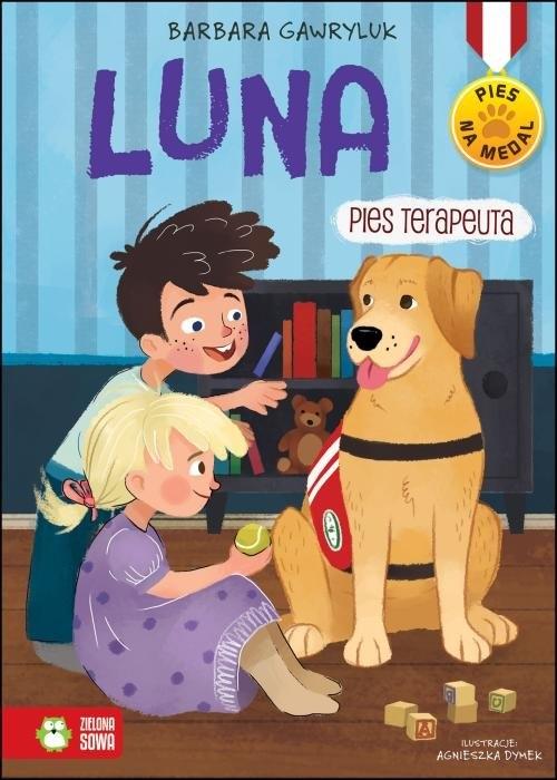 Pies na medal. Luna pies terapeuta Gawryluk Barbara