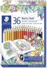Kredki ołówkowe 36 kolorów - kolekcja Johanna Basford S144 D36JB