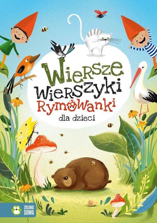 Wiersze, wierszyki, rymowanki dla dzieci Tuwim Julian, Konopnicka Maria, Bełza Władysław, Krasiński Ignacy, Jachowicz Stanisław
