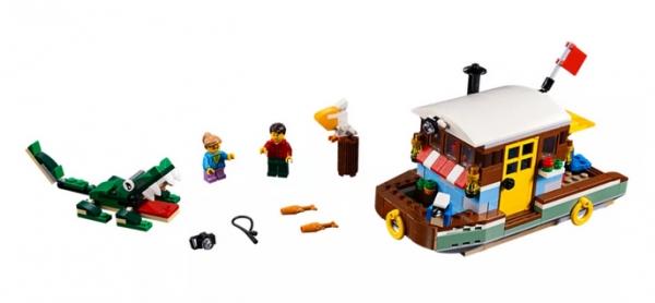 LEGO Creator Łódź mieszkalna (31093)