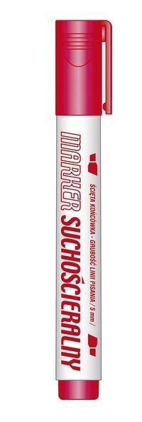 Marker suchościeralny czerwony (12szt.) KM106-CS