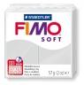 Masa termoutwardzalna Fimo soft jasnoszary (8020-80)
