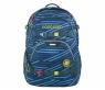 Coocazoo, plecak ScaleRale - Zebra Stripe Blue (183877) system MatchPatch