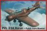 PZL 23A Karaś Polish Light Bomber (72505)