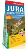 Jura Krakowsko-Częstochowska. Część południowa; laminowana mapa turystyczna 1:52 000