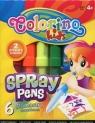 Flamastry dmuchane Colorino Kids 6 sztuk