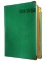Terminarz A5 LUX złocony 2022 - zielony
