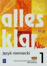 Alles klar Neu 1 Podręcznik + CD Zakres podstawowy Szkoła Łuniewska Krystyna, Tworek Urszula, Wąsik Zofia