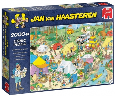 Puzzle 2000 Haasteren Pole namiotowe G3