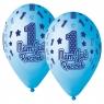 Balon gumowy Godan Mam już roczek niebieski 13cal,5 szt. 5 szt niebieski 13cal (GS120/MJRN)