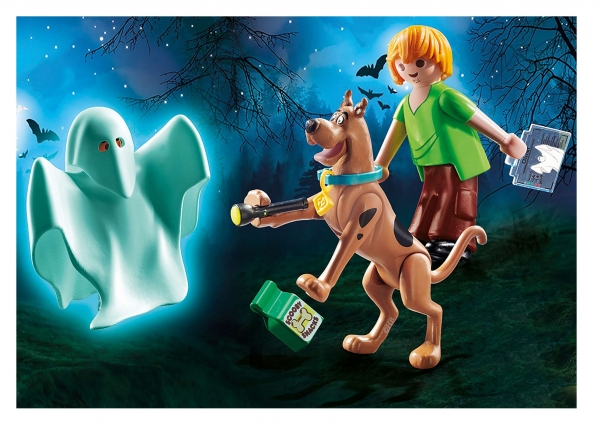 Playmobil Scooby-Doo!: Scooby & Shaggy z duchem (70287)