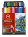 Kredki akwarelowe Mondeluz 3713, 48 kolorów + pędzel (170104)