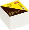 Kostka biurowa biała klejona 8.3x8.3x400 kartek