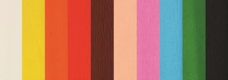 Bibuła krótka zestaw 1, 10 kolorów