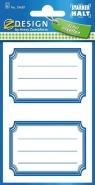 Naklejki na zeszyty niebieskie (59687)