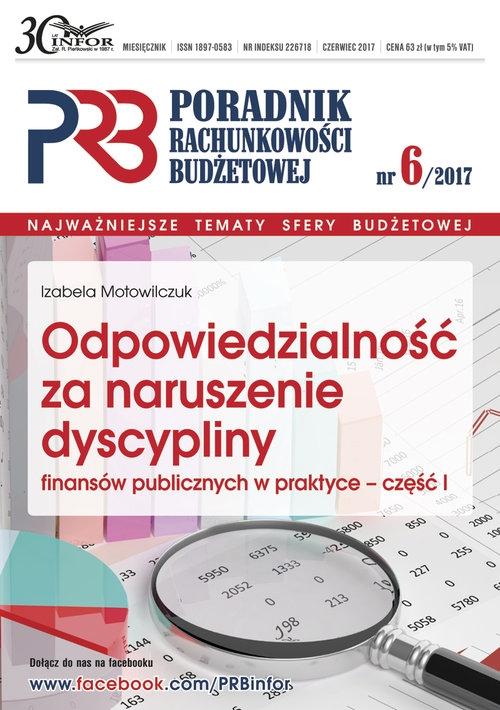 Odpowiedzialnosć za naruszenie dyscypliny finansów publicznych w praktyce część 1 Motowilczuk Izabela