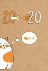 Kalendarz 18 miesięczny DI4 - Kot