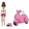 Barbie On The Go pojazd z lalką (FHV76)