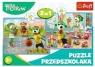 Puzzle 2w1 Rodzina Treflików TREFL