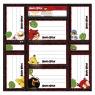 Nalepki na zeszyty Angry Birds