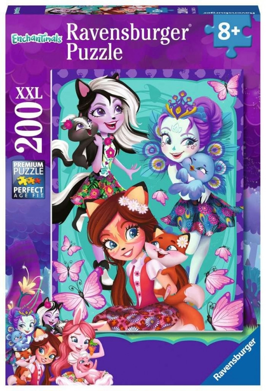 Puzzle 200 elementów XXL Enchantimals (126026)