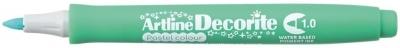 Marker permanentny Artline pastelowy decorite, zielony 1,0 mm  (AR-033 4 4)