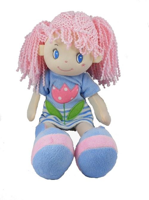 Lalka Natalia niebieska 35cm