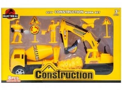 Maszyny budowlane z akcesoriami