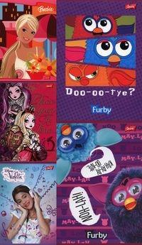 Pakiet 5 zeszytów A5 32 kartki Dla dziewczynek