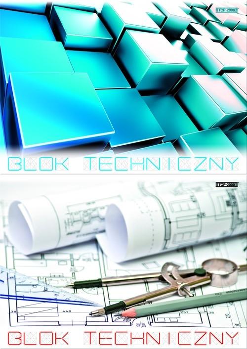 Blok techniczny A4 Top-2000 10 kartek mix