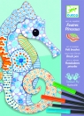Zestaw artystyczny morskie zwierzęta (DJ08648)