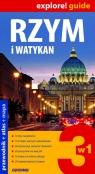 Rzym i Watykan 3w1 przewodnik + atlas + mapa