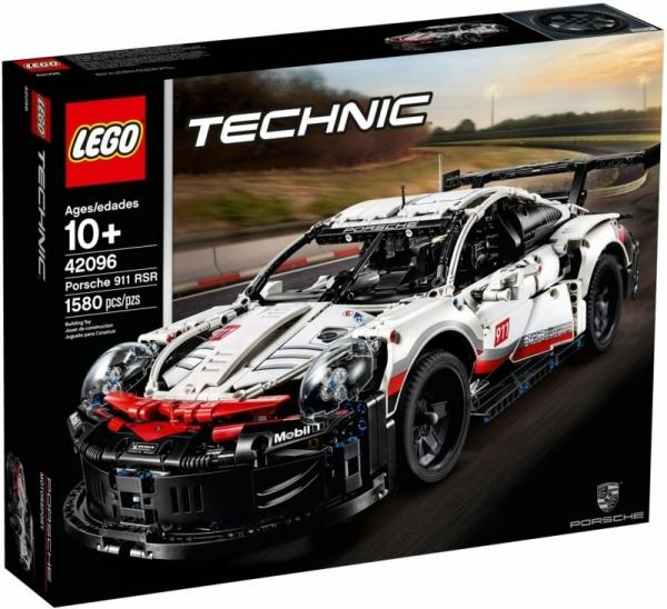 Klocki Technic Porsche 911 RSR (42096)