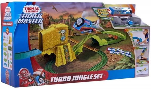 Zestaw Tomek i Przyjaciele Turboskok - Ucieczka z dżungli zestaw (FJK50)