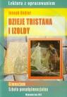 Dzieje Tristana i Izoldy Joseph BedierLektura z opracowaniem Nożyńska-Demianiuk Agnieszka