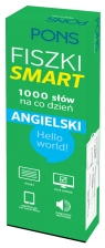 Fiszki SMART - 1000 słów na co dzień Angielski