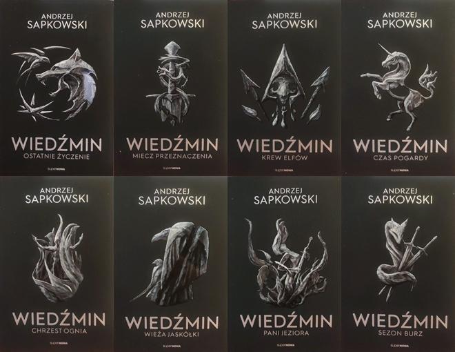 Pakiet: Wiedźmin Tomy 1-8 Andrzej Sapkowski