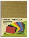 Tektura falista brokat A4 mix kolorów