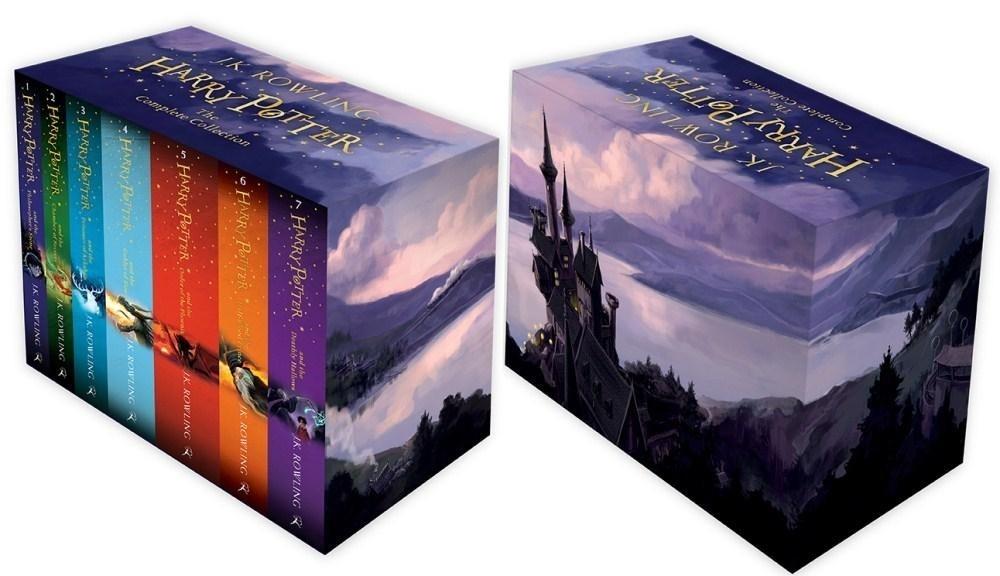 Pakiet Harry Potter tomy 1-7 Joanne K. Rowling