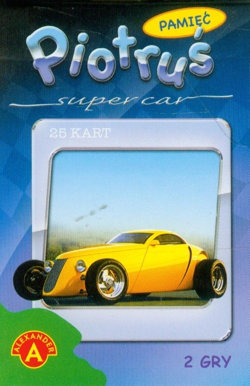 Karty Piotruś Super car (0487)