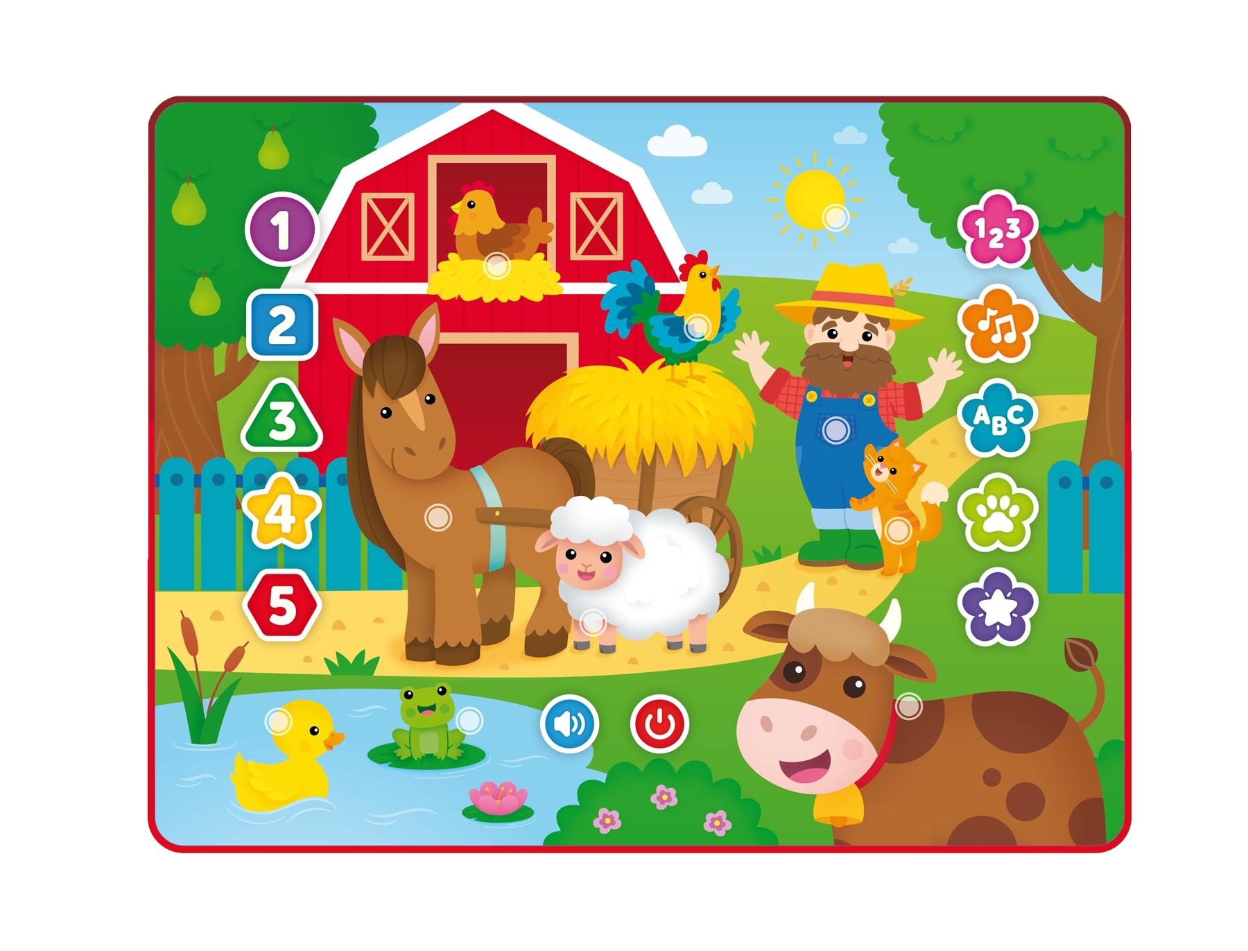 Tablet Zabawa na farmie (DD80012)