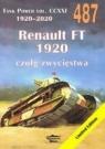 Tank Power vol. CCXXI 1920-2020 487. Renault  FT 1920 czoły zwycięstwa. Ledwoch Janusz