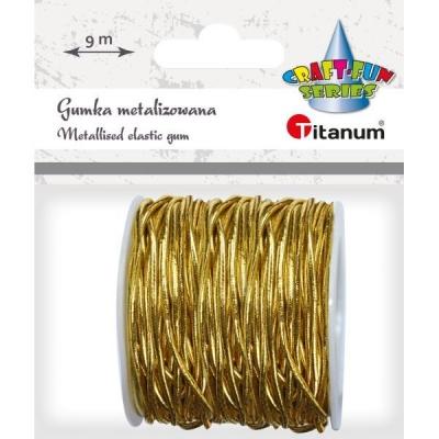Gumka metalizowana złota (363628)